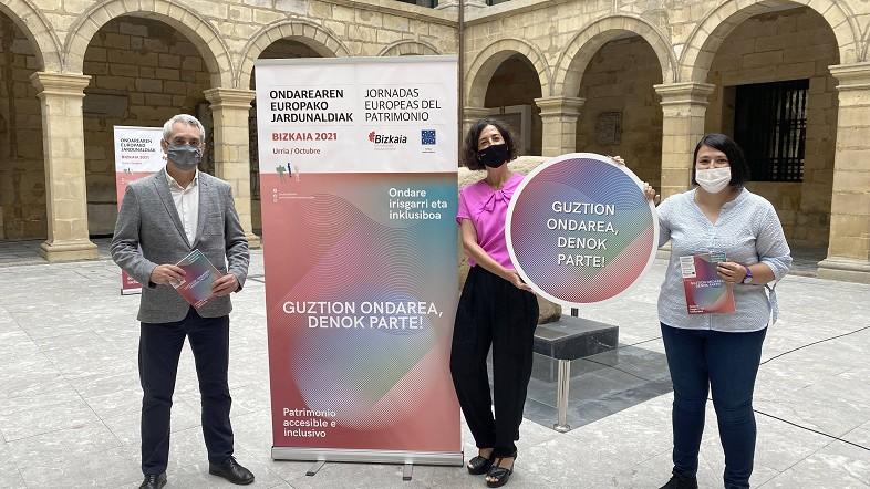Presentada la programación de la XXI edición de las Jornadas Europeas del Patrimonio en Bizkaia